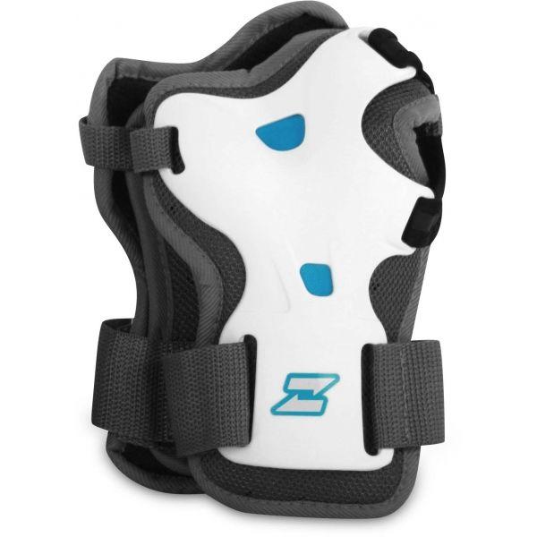 Zealot ELLA WRIST biały L - Ochraniacze na nadgarstki
