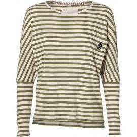 O'Neill LW ESS STRIPED L/S T-SHIRT - Dámské tričko