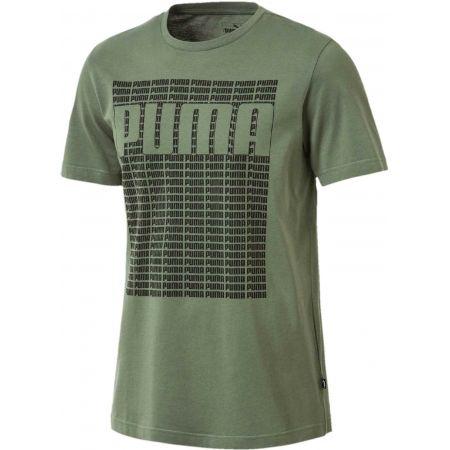 Pánske tričko - Puma WORDING TEE
