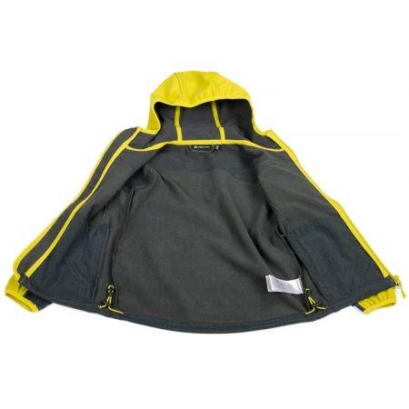 Dětská softshellová bunda - ALPINE PRO ADLYNO - 3