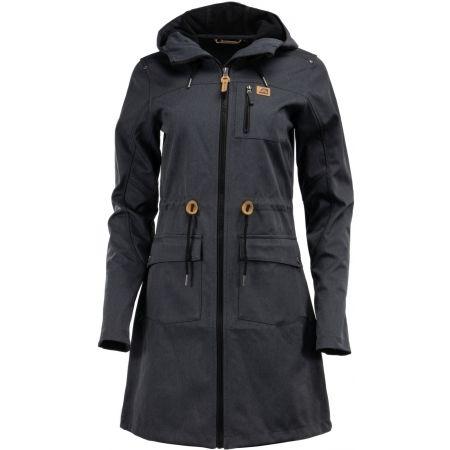 Dámsky softshellový kabát - ALPINE PRO GALLERIA 2 - 1