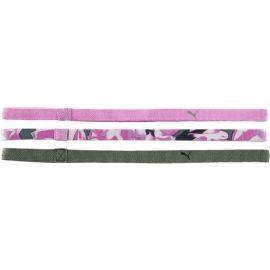 Puma AT SPORTBANDS WOMENS PACK 3PCS - Fejpánt