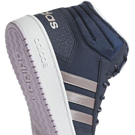 Detská voľnočasová obuv - adidas HOOPS MID 2.0 K - 5