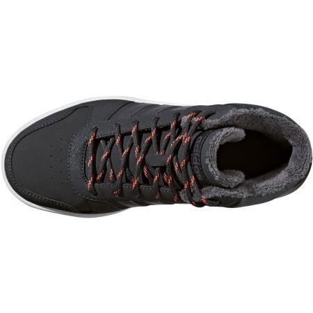 Detská voľnočasová obuv - adidas HOOPS MID 2.0 K - 2