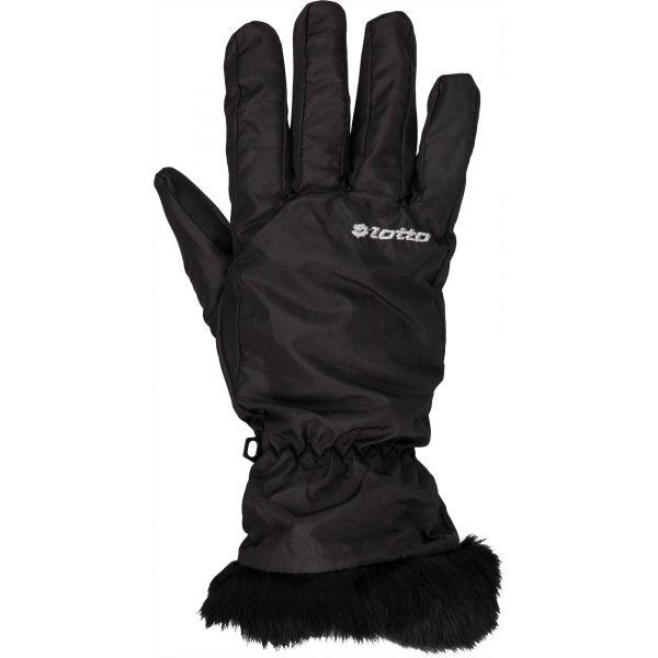 Lotto LISA čierna Dámske rukavice L Lotto