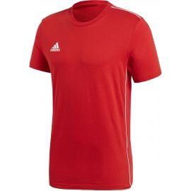 adidas CORE18 TEE - Pánské fotbalové tričko