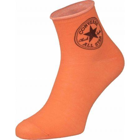 Dámske ponožky - Converse WOMEN QUARTER STAMP LOGO - 4
