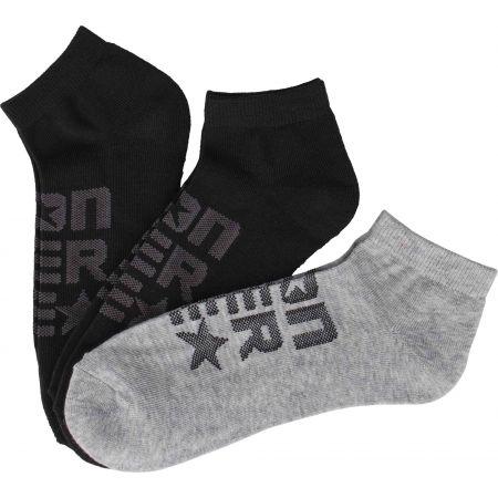 Pánské ponožky - Converse MEN'S MESH LOGO - 1