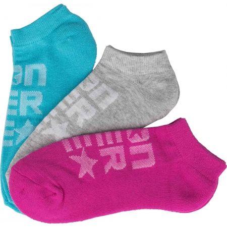 Dámske ponožky - Converse WOMEN'S MESH LOGO - 1
