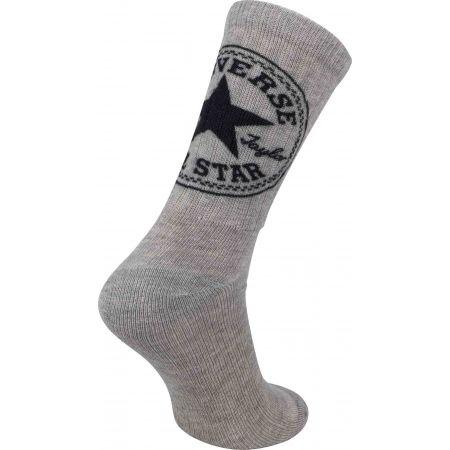Pánske ponožky - Converse FASHION CREW 360 CHUCK PATCH - 2