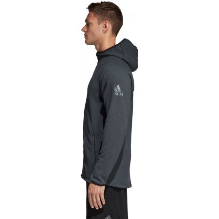 Pánska športová mikina - adidas FREELIFT HOODIE ENTRY - 3