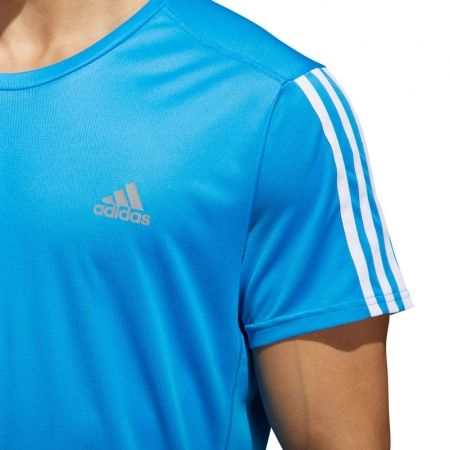 Men's T-Shirt - adidas RUN 3S TEE M - 6