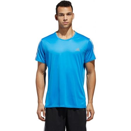 Men's T-Shirt - adidas RUN 3S TEE M - 2