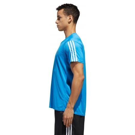 Men's T-Shirt - adidas RUN 3S TEE M - 3