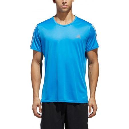 Men's T-Shirt - adidas RUN 3S TEE M - 5
