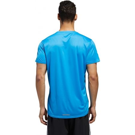 Men's T-Shirt - adidas RUN 3S TEE M - 4