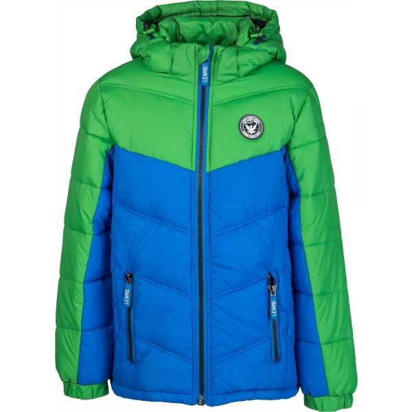 Lewro HARLOW zelená 152-158 - Detská bunda