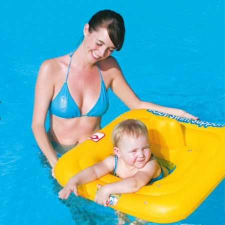 BABY SWIM - Children's inflatable swim ring - Bestway BABY SWIM - 2
