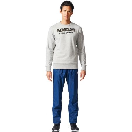 Pánské kalhoty - adidas ESSENTIALS 3 STRIPE WOVEN PANT - 6