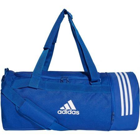 Športová taška - adidas CONVERTIBLE 3-STRIPES DUFFEL MEDIUM - 1