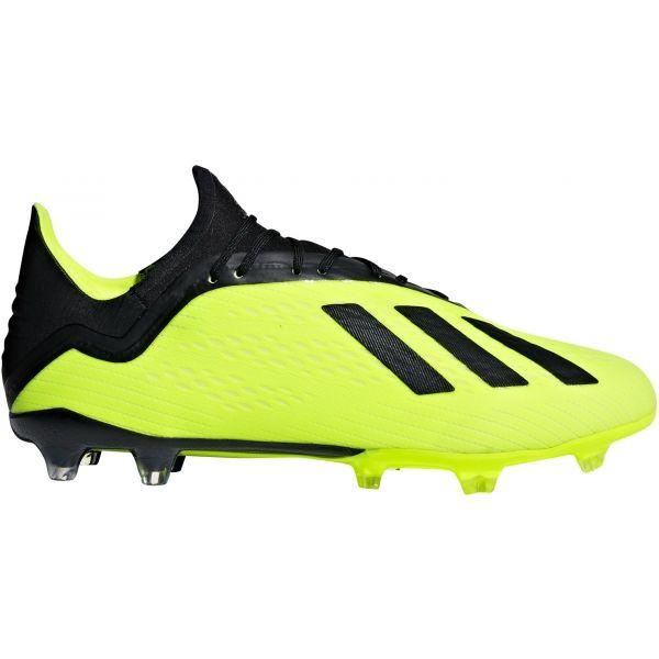 adidas X 18.2 FG žltá 10 - Pánske kopačky