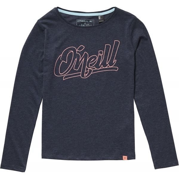 O'Neill LG NIGHT VIEW L/SLV T-SHIRT tmavě modrá 176 - Dívčí tričko