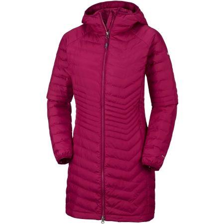 Dámský zimní kabát - Columbia POWDER LITE MID JACKET - 1