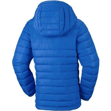 Chlapecká zateplená bunda - Columbia POWDER LITE BOYS HOODED JACKET - 2