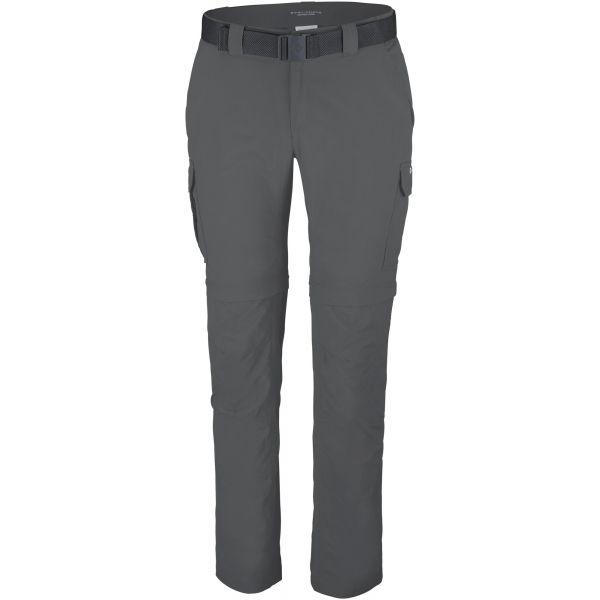 Columbia SILVER RIDGE II CONVERTIBLE PANT tmavě šedá 40/32 - Pánské outdoorové kalhoty