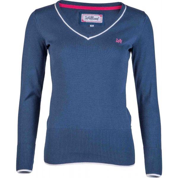 Willard SADIE modrá L - Dámský svetr