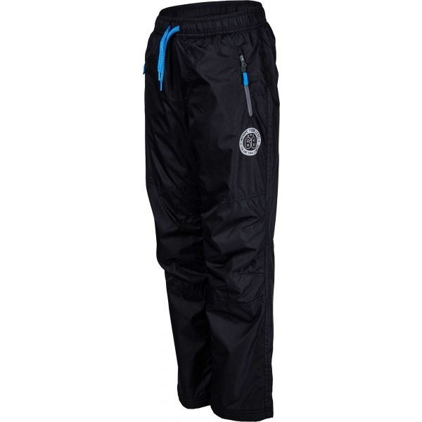Lewro NILAN czarny 140-146 - Spodnie ocieplane dziecięce