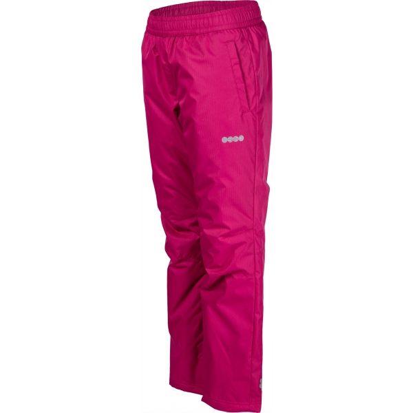 Lewro NASIM ružová 140-146 - Detské zateplené nohavice