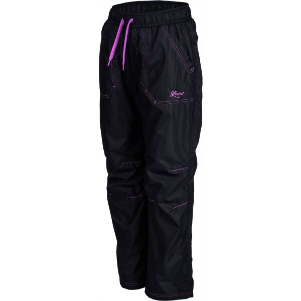 Lewro LEI fioletowy 116-122 - Spodnie ocieplane dziecięce