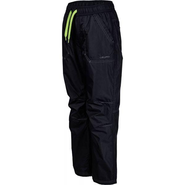 Lewro LEI zielony 140-146 - Spodnie ocieplane dziecięce