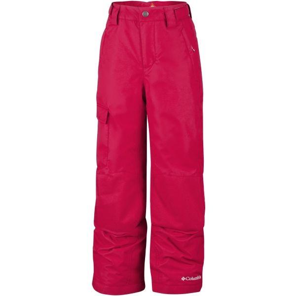 Columbia BUGABOO II PANT červená S - Dětské zimní kalhoty