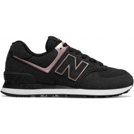 New Balance WL574NBK - Dámska obuv na voľný čas
