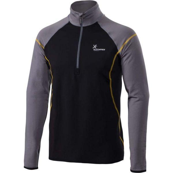 Klimatex JOZKA šedá XXL - Pánský outdoor zimní pulovr