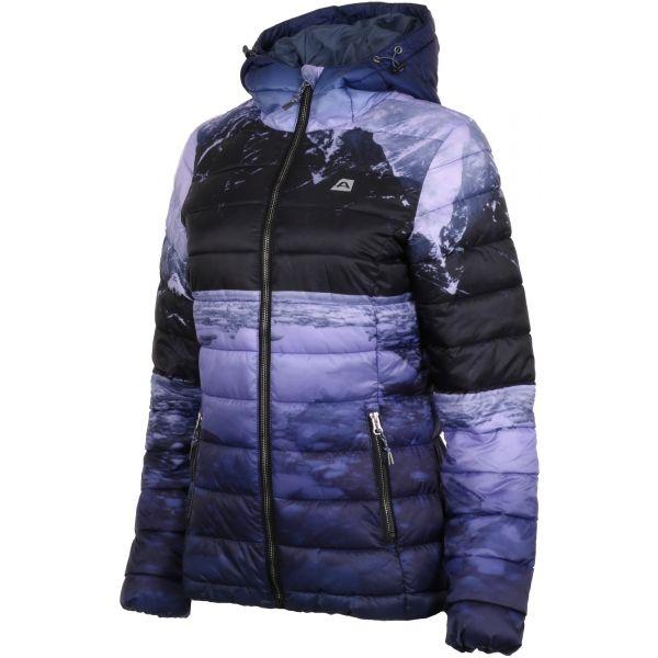 ALPINE PRO AERA fioletowy XL - Kurtka zimowa damska