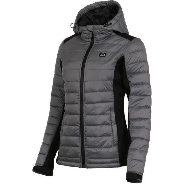 ALPINE PRO FARGO 2 šedá M - Dámská softshellová bunda