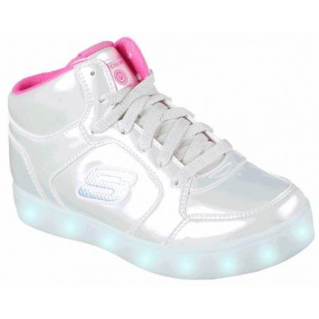 a27025eb1894 Dievčenské blikajúce tenisky - Skechers ENERGY LIGHTS  E-PRO-PEARL PRINCESS