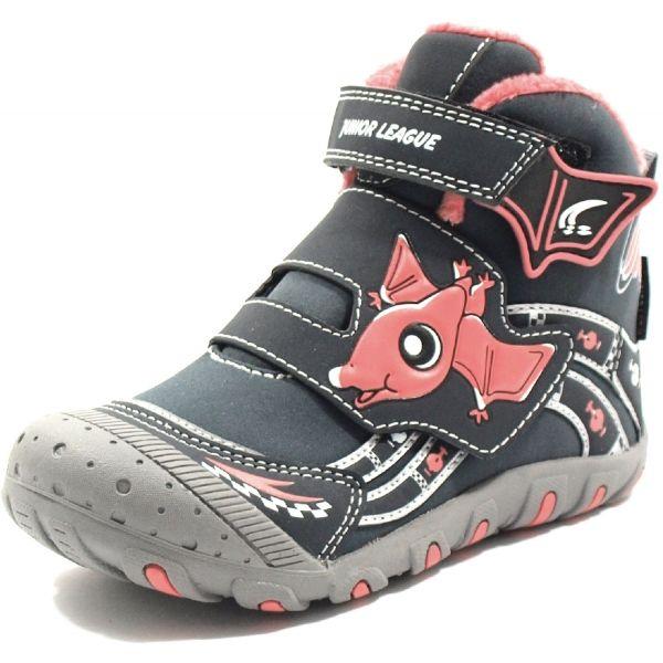 Junior League ABDON 2 HIGH béžová 33 - Dětské kotníkové boty