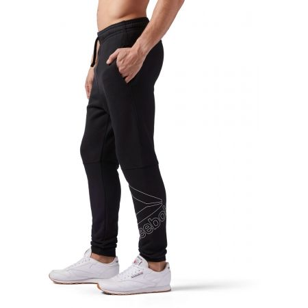 Pantaloni de bărbați - Reebok ELEMENTS BIG LOGO JOGGER PANT - 3