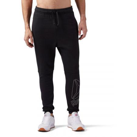 Pantaloni de bărbați - Reebok ELEMENTS BIG LOGO JOGGER PANT - 4