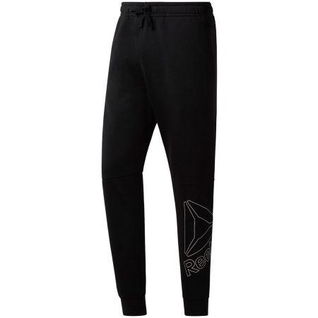 Pantaloni de bărbați - Reebok ELEMENTS BIG LOGO JOGGER PANT - 1