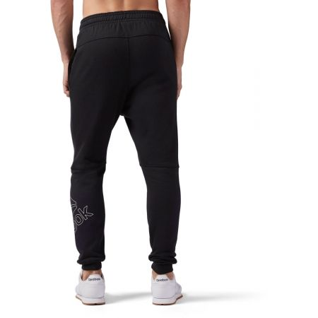 Pantaloni de bărbați - Reebok ELEMENTS BIG LOGO JOGGER PANT - 5