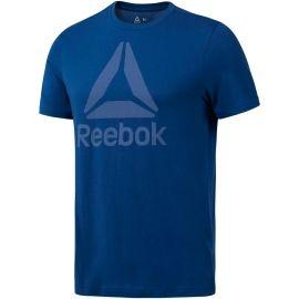 Reebok QQR REEBOK STACKED - Tricou de bărbați