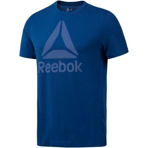 Reebok QQR REEBOK STACKED - Pánske tričko