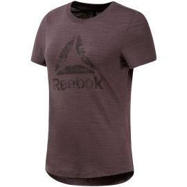 Reebok EL MARBLE LOGO TEE - Women's T-shirt