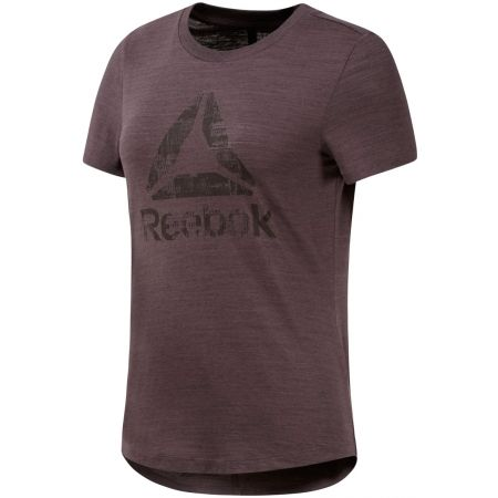 Tricou damă - Reebok EL MARBLE LOGO TEE - 1