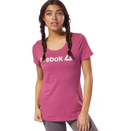Tricou damă - Reebok REEBOK LINEAR READ SCOOP NECK - 3